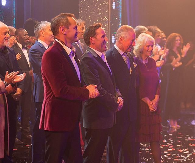 Charles and Camilla were given the royal treatment at the glamorous event! *(Image: AAP)*