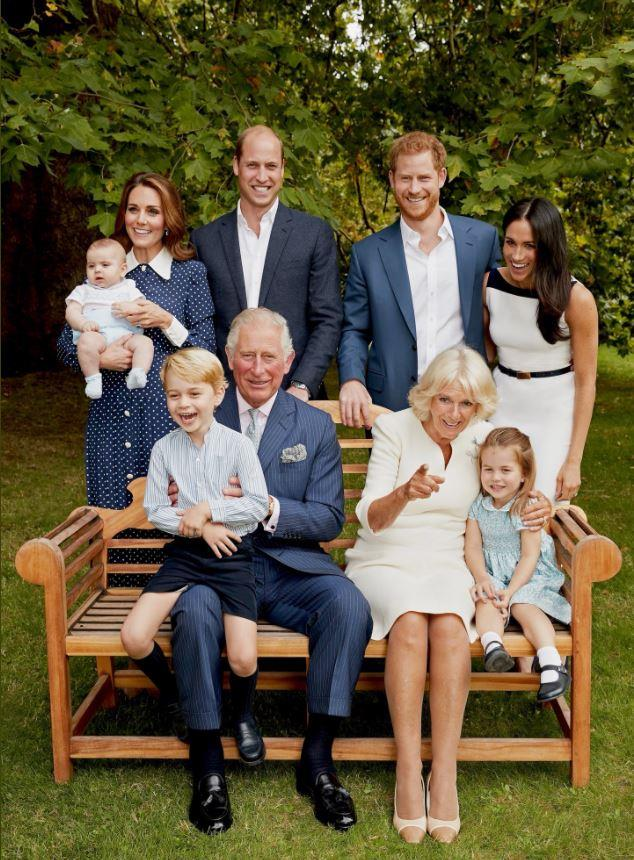 The royals get candid in this stunning shot! *(Image: Chris Jackson/Getty)*
