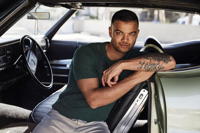 Guy Sebastian is the new coach on *The Voice.*