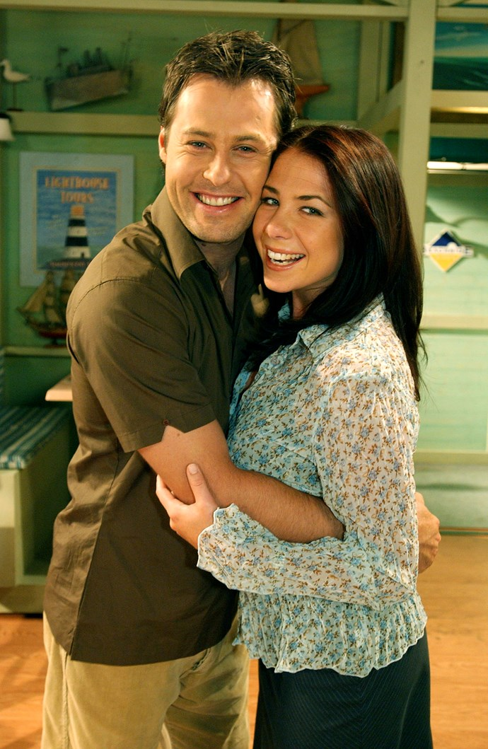 **3. Sally & Flynn** <br><br> A string of failed romances made Sally Fletcher (Kate Ritchie) cautious when it came to relationships. But charming doctor Flynn Saunders (Joel McIlroy) quickly won her over and the pair tied the knot in 2003. The newlyweds were thrilled when Leah (Ada Nicodemou) offered to be a surrogate, and they welcomed a baby girl called Pippa.  <br><br> But their world crumbled when Flynn was diagnosed with melanoma and given just three months to live. In his final hours, Sally and Flynn danced to their wedding song.