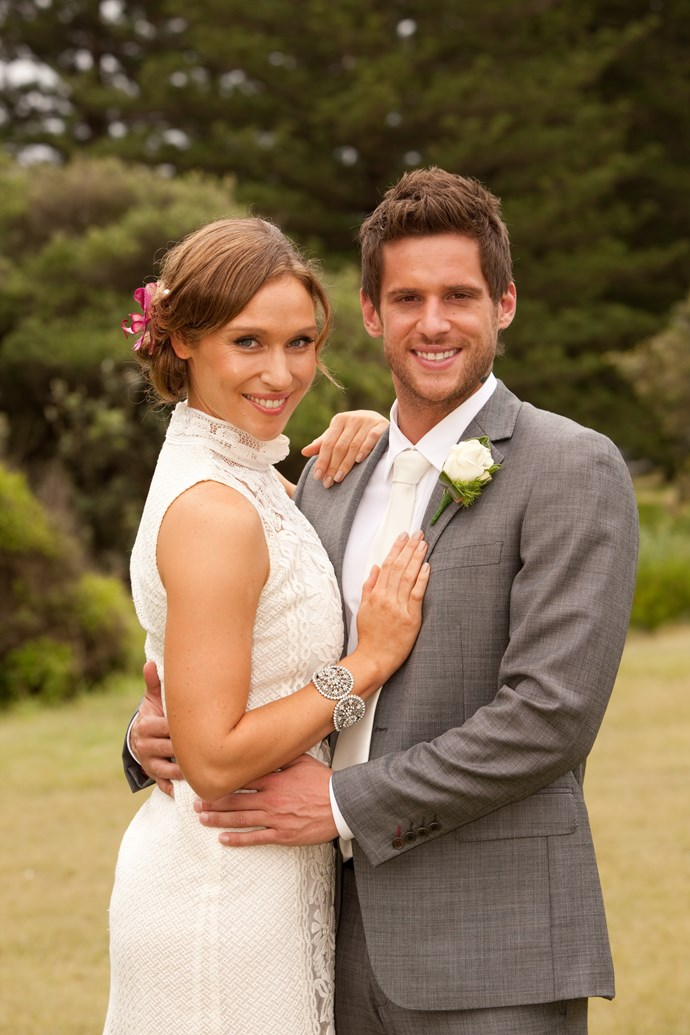 **8. Bianca & Heath**   <br><br> Who could blame teacher Bianca Scott (Lisa Gormley) for falling for bad boy Heath Braxton (Dan Ewing)? Their passionate relationship scaled the heights – they got married in 2013 – and plumbed the depths after their son Rocco passed away from SIDS. But a seemingly unbreakable bond always existed between one of our all-time favourite couples.