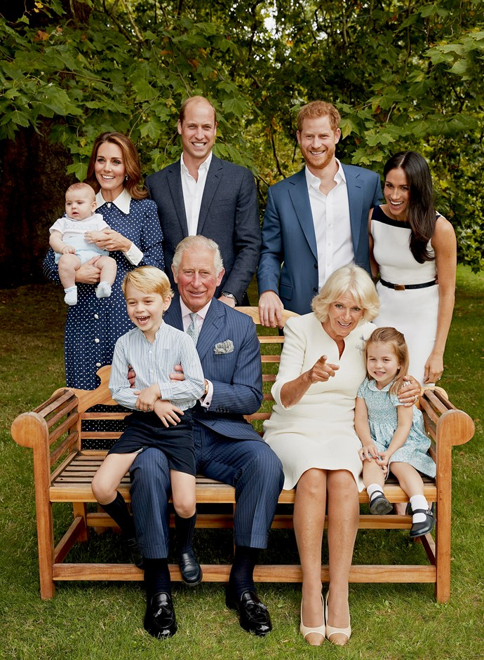 Whoever he resembles, Prince Louis is part of one good-looking family! *(Image: Chris Jackson/Getty)*