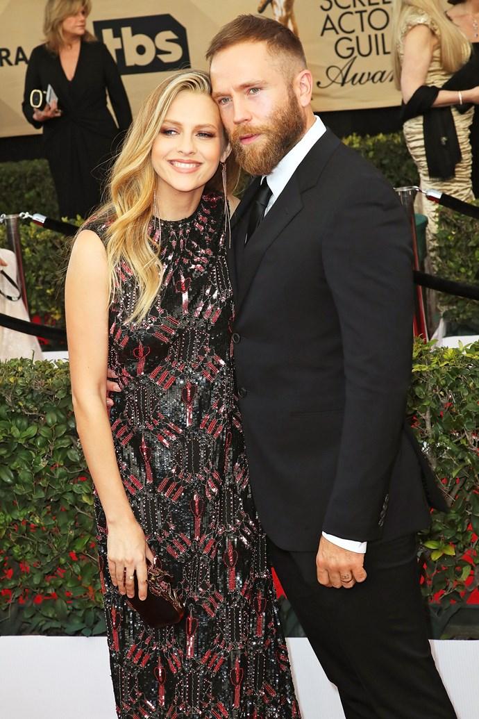 Teresa with her husband Mark Webber.