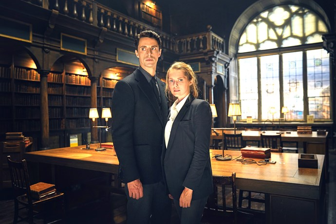 Matthew Goode and Teresa in *A Discovery of Witches.*