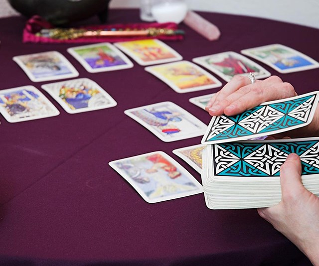 Angel cards are like tarot cards but without the spooky connotations. *(Image: Getty Images)*