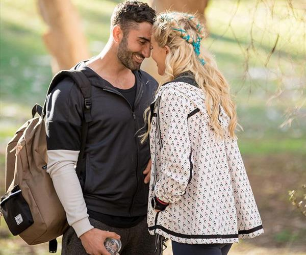 Their scavenger hunt single date brought them closer together. *(Image: Network Ten)*