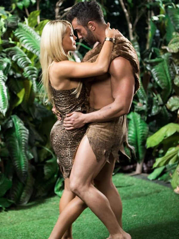 Tarzan and Jane, is that you? *(Image: Instagram @taiteadamradley)*