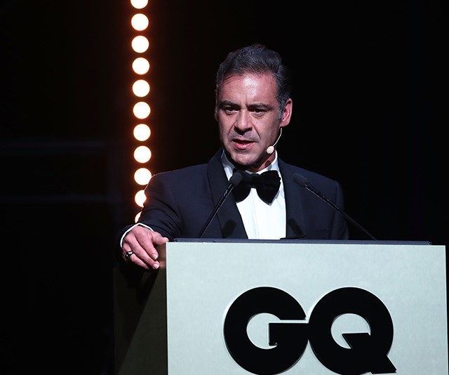 Television host Andrew O'Keefe was on fine form as he presented during the evening. *(Image: Getty)*