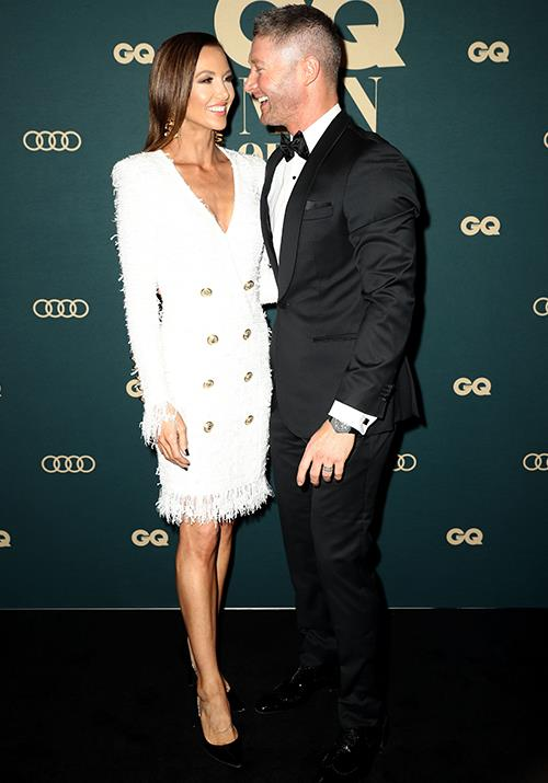 "Despite [recent whispers of trouble in paradise](https://www.nowtolove.com.au/celebrity/celeb-news/kyly-clarke-michael-clarke-assistant-52338|target=""_blank""), former Australian cricket captain Michael Clarke and wife Kyly couldn't have looked more loved up. *(Image: Getty)*"