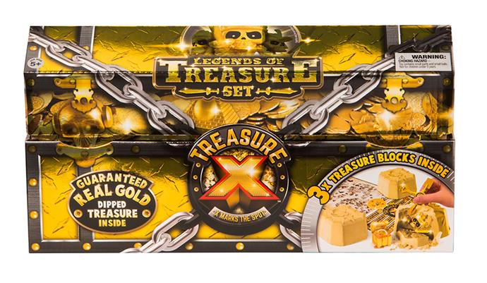 """[Treasure X Assorted 3 piece Chest Pack](https://www.myer.com.au/p/toy-hobby-treasure-x-3-pack-chest target=""""_blank"""" rel=""""nofollow""""), now $34"""