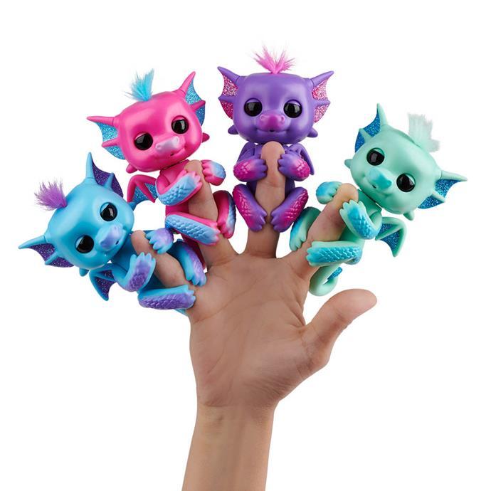 "[Fingerlings Assorted Dragon](https://www.myer.com.au/p/fingerlings-dragon-assorted-640735030-640735300 target=""_blank"" rel=""nofollow""), now $18.50 each"