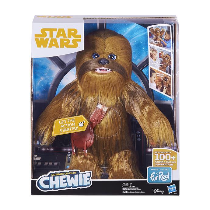 "[Star Wars Ultimate Co-Pilot Chewie](https://www.myer.com.au/p/star-wars-star-wars-ultimate-co-pilot-chewie|target=""_blank""|rel=""nofollow""), now $199"