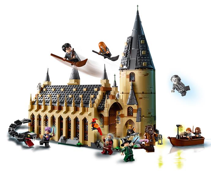 """[Lego World of Wizards Hogwarts Great Hall](https://www.myer.com.au/p/world-of-wizards-hogwarts-great-hall-75954-217953910-634085290