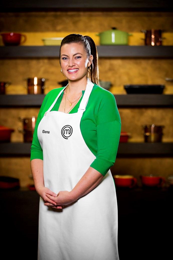 2016 *Masterchef Australia* Winner Elena Duggan.