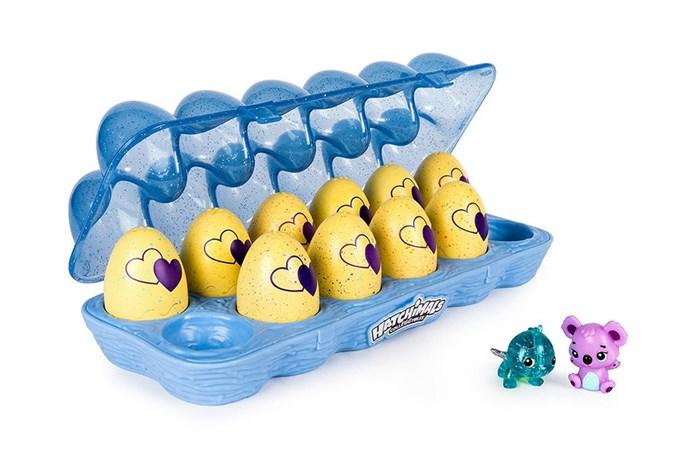 "Hatchimals CollEGGtibles 12 Pack Egg Carton Series 3, $29 at [Target](https://www.target.com.au/p/hatchimals-colleggtibles-12-pack-egg-carton-series-3-assorted/61510517|target=""_blank""|rel=""nofollow"")"