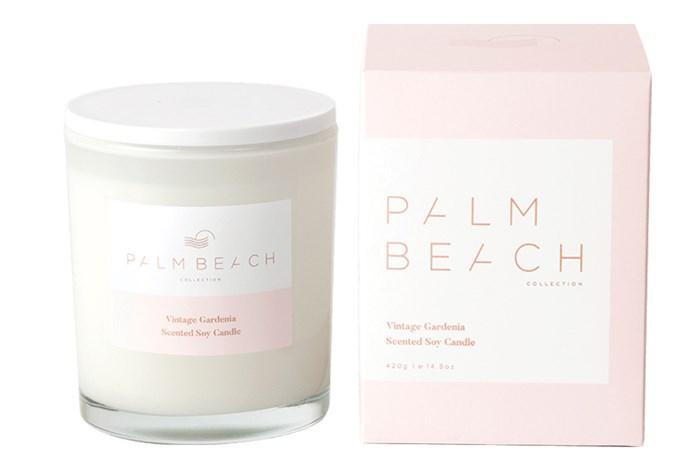 "[Palm Beach Vintage Gardenia Candles, $39.95](https://palmbeachcollection.com.au/product/standard-vintage-gardenia-candle-2/|target=""_blank""|rel=""nofollow"")"
