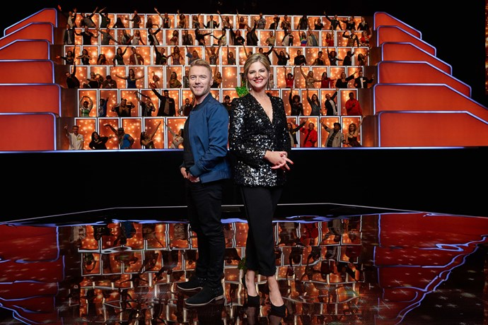 Ronan Keating and Julia Zemiro present *All Together Now*.