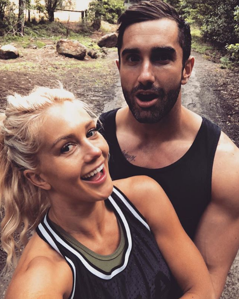 Ali and Taite are excited to be back together after months of secrecy.