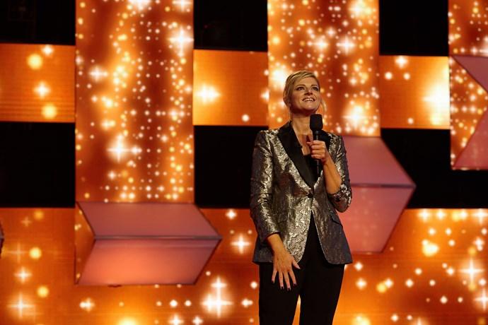 Co-host Julia's favourite musicians are Joni Mitchell, Bjork and ABBA.