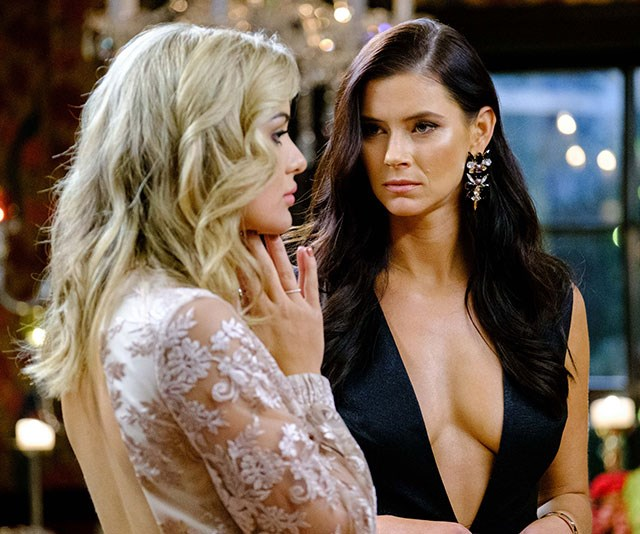The two *Bachelor* contestants are already close friends. *(Image: Network Ten)*