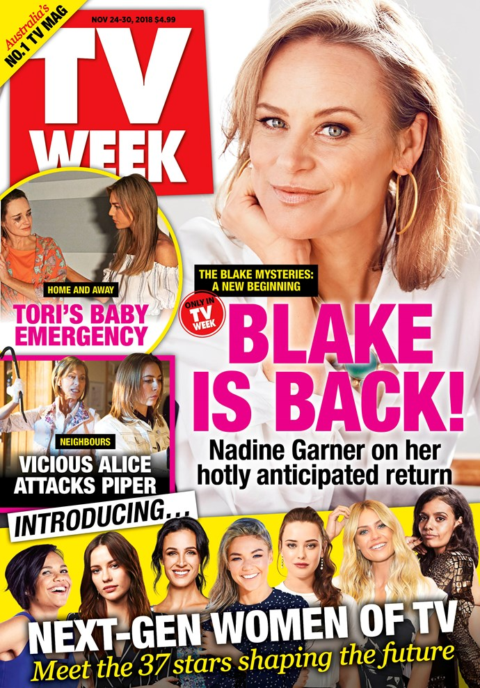 **Pick up a copy of this week's issue of *TV WEEK*. On sale now!**