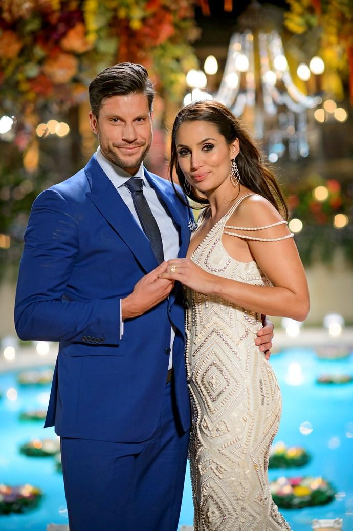 *The Bachelor's* Sam Wood and Snezana Markoski.