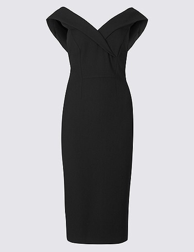 The stunning gown worn by the Duchess is surprisingly affordable. *(Image: Marks & Spencer)*