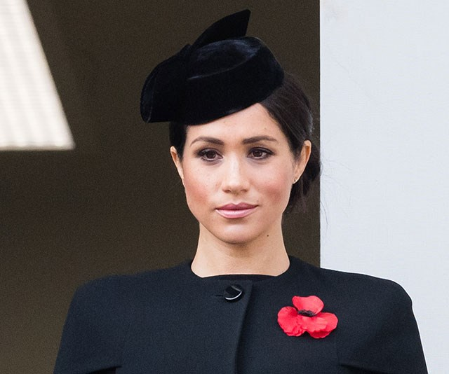 Up and at 'em: The Duchess of Sussex is said to wake up at 5am everyday and jump head first into her work. *(Image: Getty)*