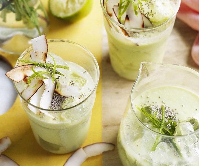 "**Avocado and Banana Smoothie** <br><br> This superfood smoothie is delicious, nutritious and filling! <br><br> Find the full *Australian Women's Weekly* recipe [HERE](https://www.womensweeklyfood.com.au/recipes/avocado-and-banana-smoothie-14119|target=""_blank"")"