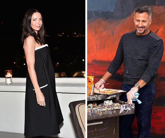 Love is in the air for Erica Packer. *(Images L-R: Getty Images/ Instagram @studioenriquemartinezcelaya)*
