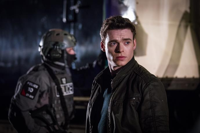 Richard Madden wowed viewers as Sergeant David Budd.
