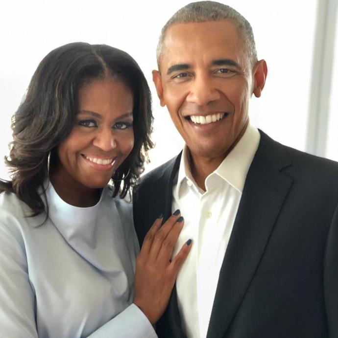 Michelle and Barack Obama are the definition of couple goals! *(Source: Instagram/Michelle Obama)*