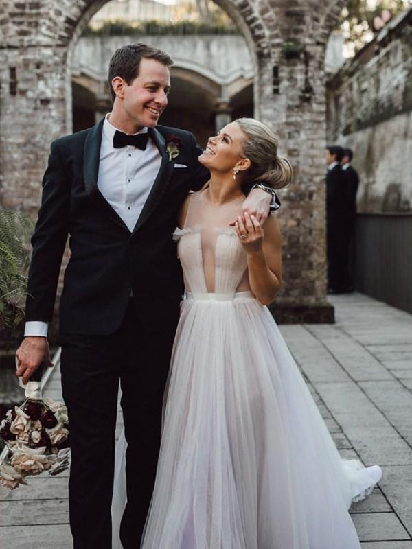 Emma and husband Charlie tied the knot in June. *(Image: Instagram @emma_freedman)*