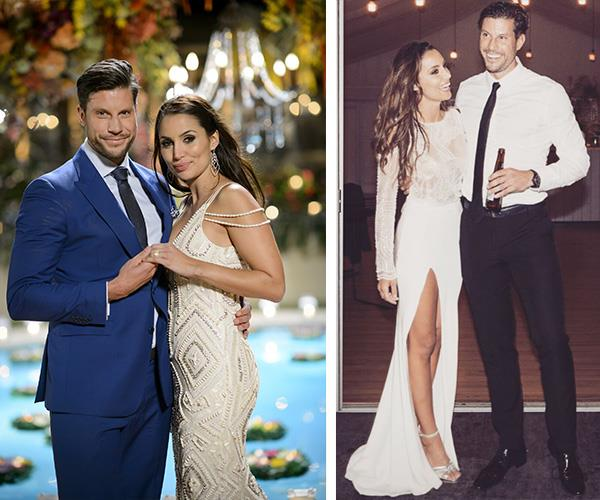 We know these two scrub up nicely so the photos are bound to look amazing! *(Images L-R: Network Ten/Instagram @snezanawood)*