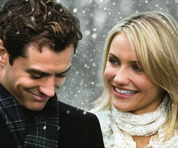 ***The Holiday* (2006, Stan)** <br><br> When uptight Hollywood movie trailer producer Amanda (Cameron Diaz) trades homes with heartbroken Iris (Kate Winselt) for the holidays, they find much more than they bargained for when they cross paths with handsome strangers (played by Jude Law and Jack Black).