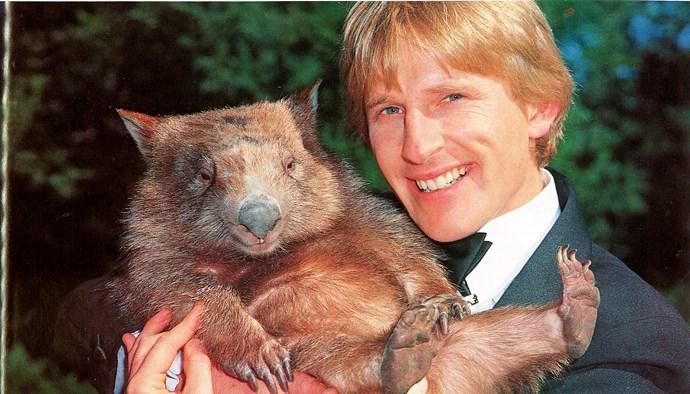 Fatso the wombat.