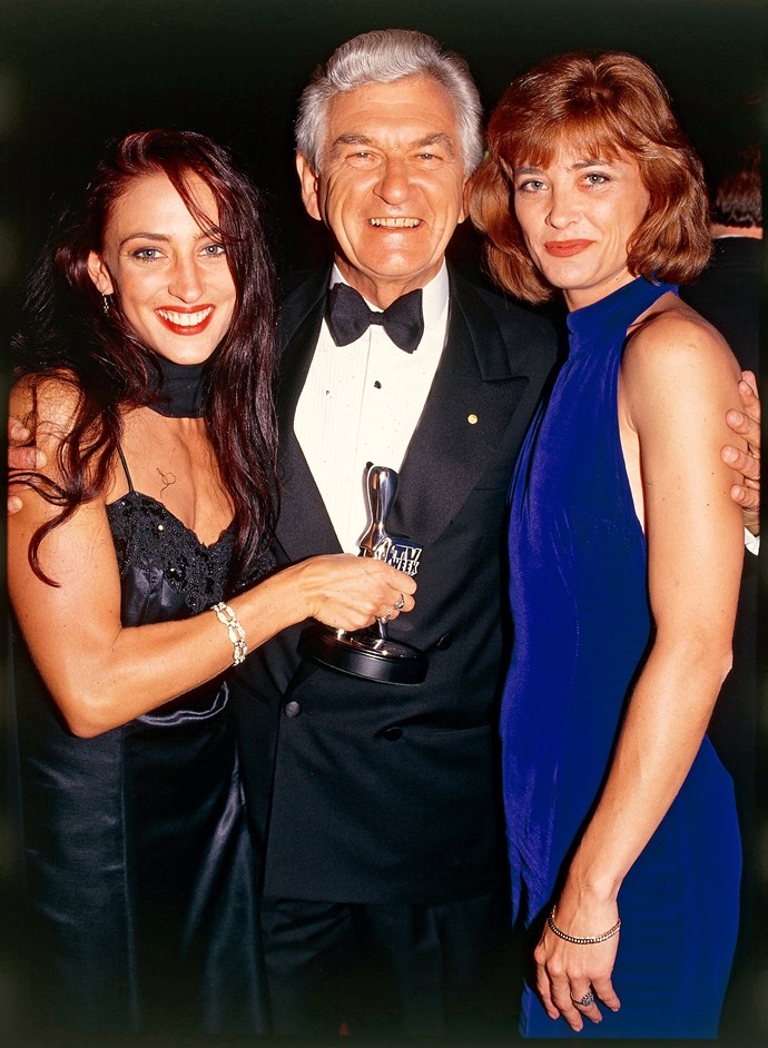 Georgie, former Prime Minister Bob Hawke, and Kate Raison.