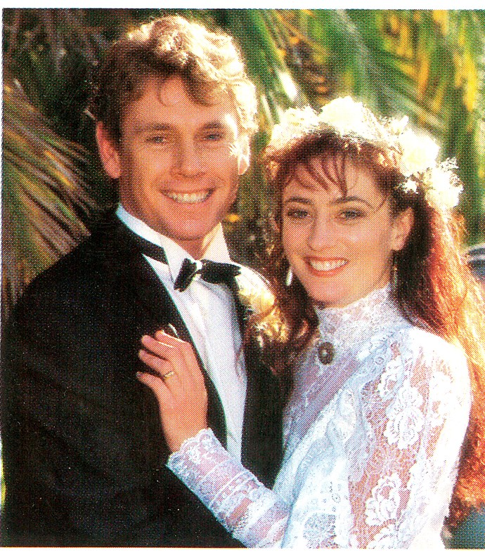 Fans were thrilled when Matt and Lucy tied the knot in 1990.