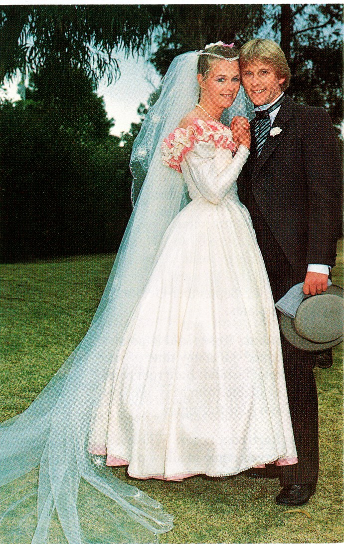 Simon and Vicky's 1993 wedding was a ratings hit.