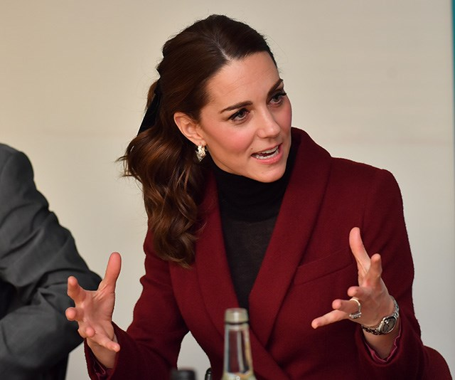 She got right into the discussions! *(Image: Getty)*