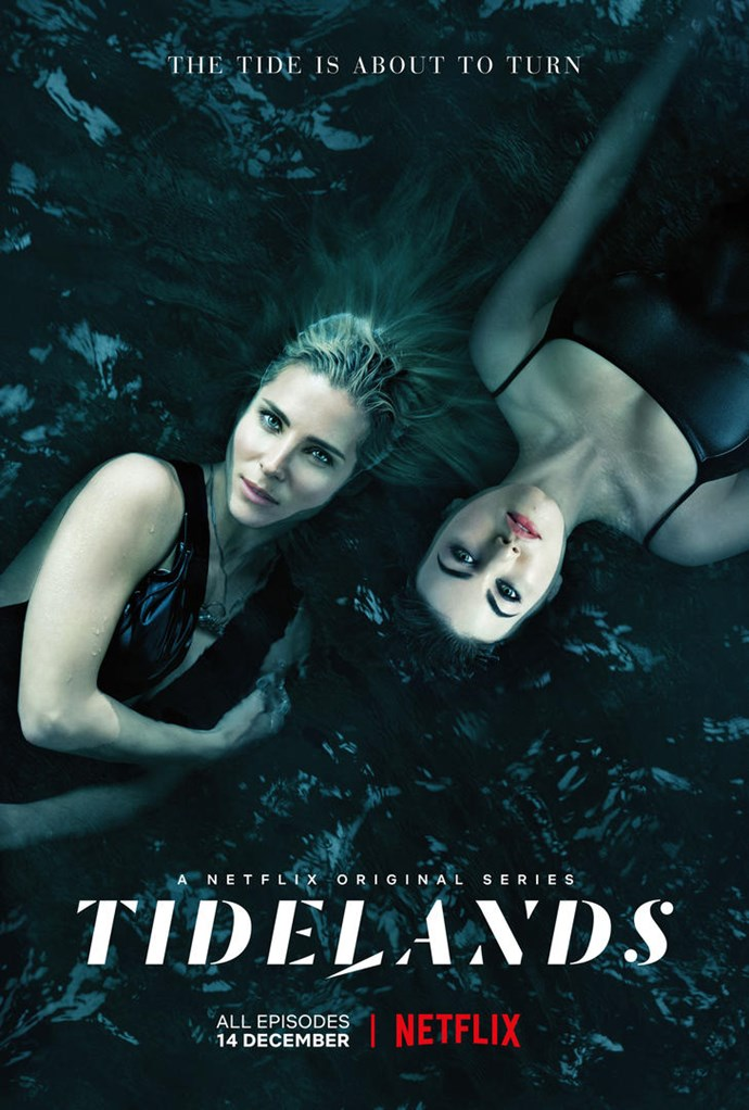 Elsa Pataky and Charlotte Best star in *Tidelands.*