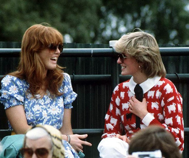 Sarah Ferguson and Princess Diana were close friends growing up and it was reportedly Diana who played matchmaker for Prince Andrew and Fergie. *(Image: Getty)*