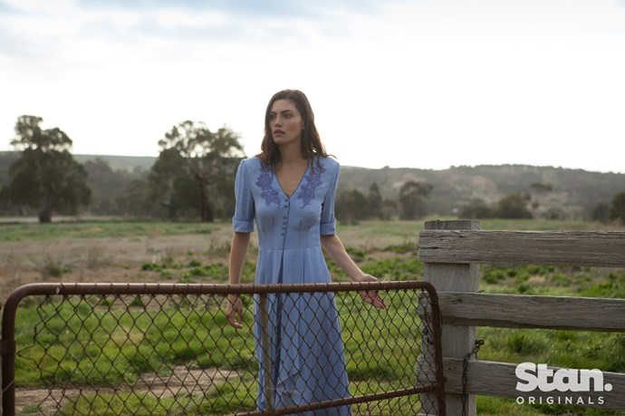 Phoebe Tonkin as young Gwen in *Bloom.*