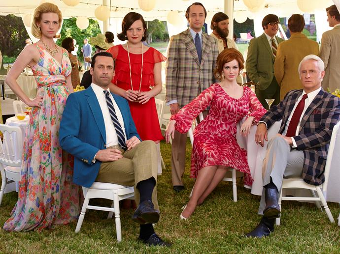 **MAD MEN** <br><br> **Years on TV:** 2007-2015 <br><br> **Seasons:** 7 <br><br> **The show:** We loved its portrayal of 1960s New York, where alpha male Don Draper (Jon Hamm)  struggled to stay on top of the heap in the brutal world of advertising.  <br><br> **The finale:** Memorable because it gave us what we didn't expect. Rather than a vision of Draper walking off into the sunset, the final scene ended with an iconic soft drink commercial. It was intriguing because it left Draper's fate up in the air.  <br><br> **Reboot chances:** There may be scope for another *Mad Men* because the series avoided tying up several key storylines. Bring it on.