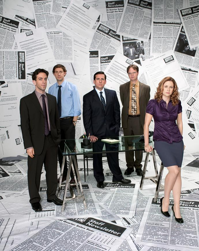 **THE OFFICE  (US VERSION)** <br><br> **Years on TV:** 2005-2013 <br><br> **Seasons:** 9 <br><br> **The show:** Set at paper sales company Dunder Mifflin, the show had a similar, brilliantly produced documentary style to that of the Ricky Gervais-led British original. Few expected the US version to work, but it was a huge success.  <br><br> **The finale:** Memorable for the right reasons because it brought all the main characters back – even long-departed boss Michael Scott (Steve Carell) – for one last bow.  <br><br> **Reboot chances:** If cast enthusiasm is a guide, it will happen. John Krasinski (who played Jim Halpert) wants another go, as does Ed Helms (Andy Bernard). Steve, however, is not up for it.