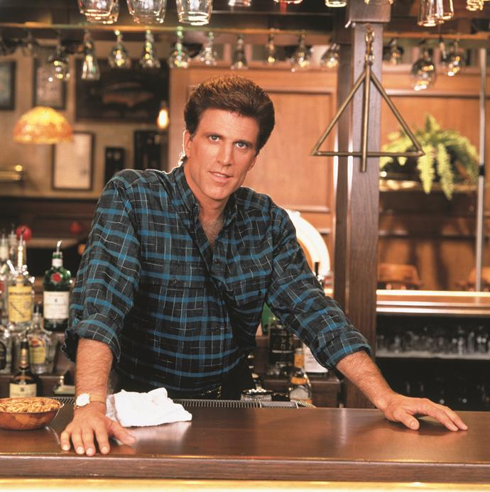 """**CHEERS** <br><br> **Years on TV:** 1982-1993 <br><br> **Seasons:** 11 <br><br> **The show:** Starring Ted Danson as barman and ladies' man Sam Malone, *Cheers* was a brilliant ensemble piece about a group of locals who meet at a pub to drink, relax and escape life's ills. <br><br> **The finale:** The final episode was extraordinary for its melancholy. One by one, the cast members depart, leaving Sam alone in the dark with his one enduring love: the bar itself.  <br><br> **Reboot chances:** Co-executive producer Rob Long has said he's keen to jump on the reboot bandwagon.  <br><br> """"I've pitched a reboot 'til I'm blue in the face. I'd love to do it,"""" he told *Variety.*"""