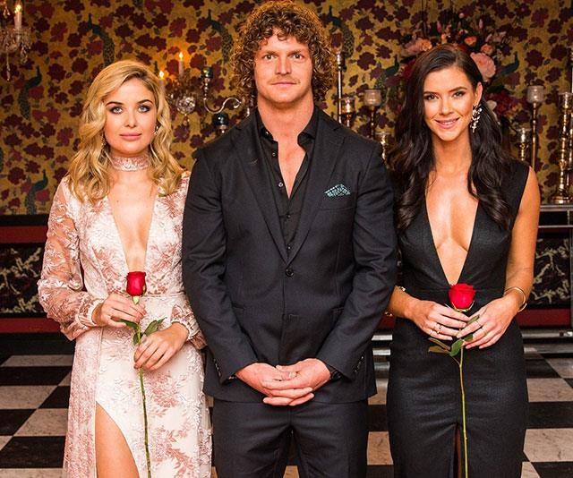 It's over x2! In a Bachelor Australia first, Nick Cummins didn't pick either Sophie or Brittany and Australia had A LOT of feelings about it. *(Image: Network 10)*