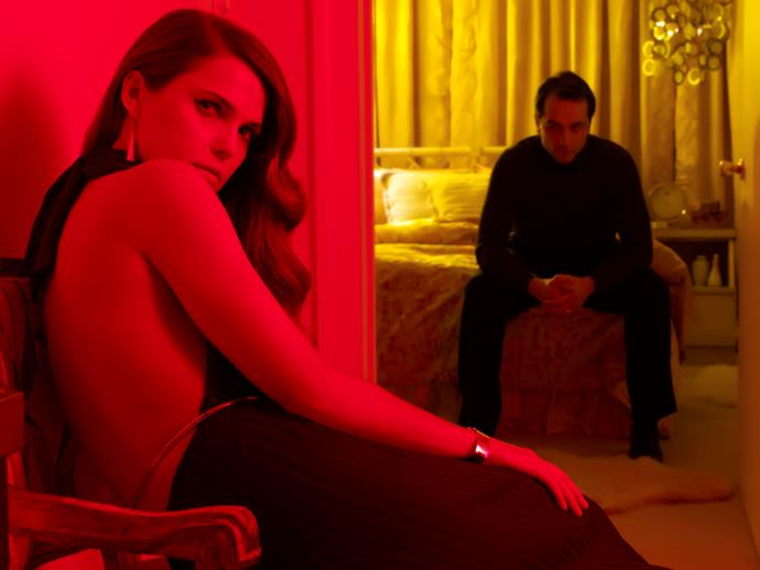 """**THE AMERICANS** <br><br> **Years on TV:** 2013-2018 <br><br> **Seasons:** 6 <br><br> **The show:** *The Americans* was a magnificently conceived spy thriller set in the 1980s that told the gripping story of Elizabeth (Keri Russell) and Philip Jennings (Matthew Rhys), Soviet KGB officers posing as an American couple living in suburban Washington, DC.  <br><br> **The finale:** Unforgettable and emotionally powerful with its use of the U2 song """"With Or Without You"""", it saw Elizabeth and Philip on the run with their daughter, Paige (Holly Taylor), having reluctantly left behind their son, Henry (Keidrich Sellati).  <br><br> **Reboot chances:** Not looking good. Co-creator Joe Weisberg, when asked about a possible revival or spin-off, said, """"We feel it's done."""""""