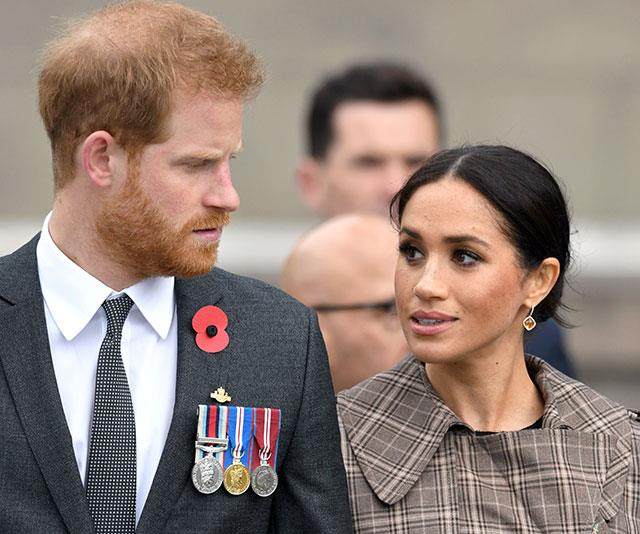 Prince Harry And Duchess Meghan's Shock Over Princess