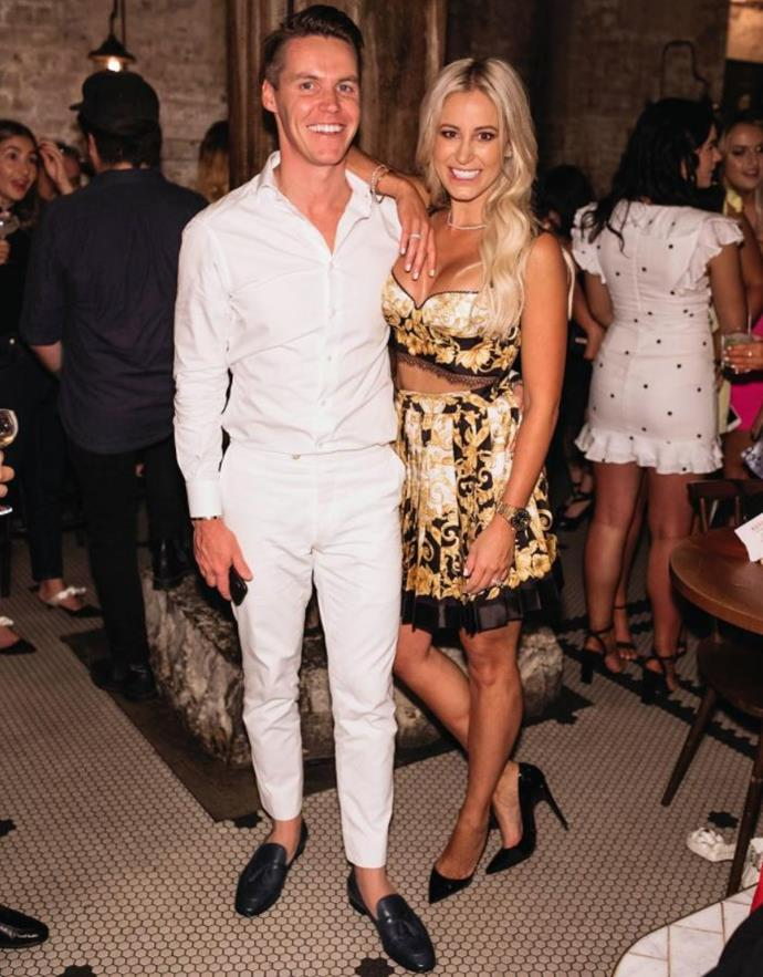 There's no denying Roxy Jacenko is a female force to be reckoned with. She's pictured here with husband Oliver Curtis. *(Image: Instagram)*